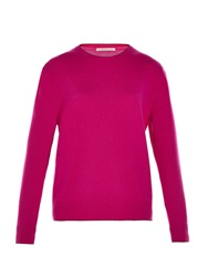 Christopher Kane Contrast Trim Long Sleeved Cashmere Sweater