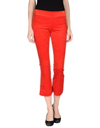 Grazia'lliani Casual Pants Red