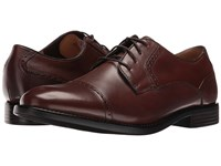 Dockers Hawley Chili Burnished Full Grain Men's Lace Up Casual Shoes Brown