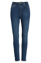 Bdg Urban Outfitters Pine High Waist Skinny Jeans Denim Blue