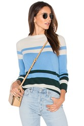 Demy Lee Lucille Stripe Sweater Blue