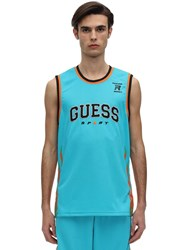 Guess Rokit Basketball Jersey Blue