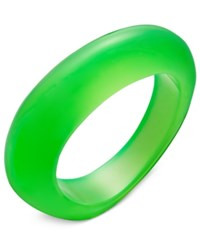 Inc International Concepts Oblong Colored Acrylic Bracelet Only At Macy's Green