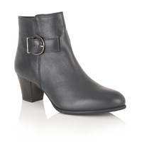 Lotus Genevieve Ankle Boots Navy