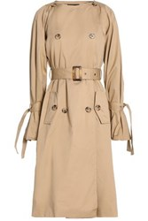 W118 By Walter Baker Martha Cotton Gabardine Trench Coat Sand