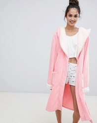 Chelsea Peers Pink Fluffy Dressing Gown
