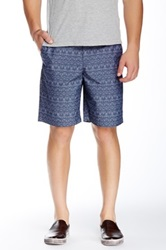 Original Penguin Palm Tree Print Short Blue