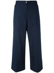 I'm Isola Marras Cropped Trousers Blue