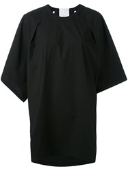 Lost And Found Rooms Oversized T Shirt Dress Women Cotton Spandex Elastane L Black