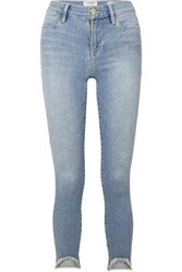 Frame Le High Skinny Jeans Light Denim