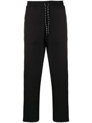 Andrea Crews Casual Track Trousers Black