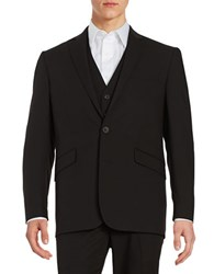Kenneth Cole Reaction Two Button Jacket Black