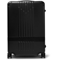 Montblanc My 4810 Leather Trimmed Polycarbonate Suitcase Black