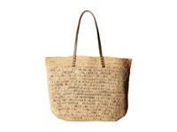 Hat Attack Ibiza Tote Natural Tote Handbags Beige