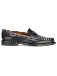 Givenchy Studded Loafers Black
