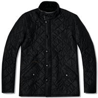 Barbour Powell Jacket Black
