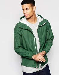 Pull And Bear Pullandbear Lightweight Jacket With Hood In Green Green