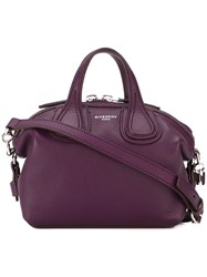 Givenchy Micro 'Nightingale' Tote Pink And Purple