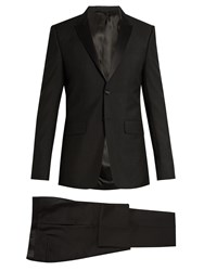 Givenchy Wool And Mohair Blend Tuxedo Black