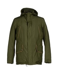 Alviero Martini 1A Classe Coats And Jackets Jackets Men Green
