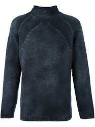 Avant Toi Turtle Neck Jumper Black
