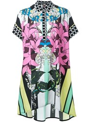 I'm Isola Marras Floral Print Shirt Dress Multicolour