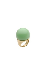 Hoss Intropia Rings Light Green