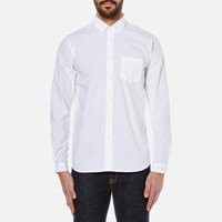 Folk Men's Relaxed Fit Shirt White