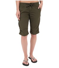 Prana Emma Knicker Cargo Green Women's Shorts