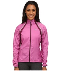 Pearl Izumi W Elite Barrier Convertible Cycling Jacket Meadow Mauve Dark Purple Women's Workout Pink