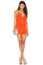 Yfb Clothing Recess Romper Orange