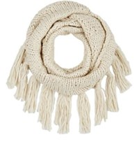 Buji Baja Women's Chunky Eternity Scarf Cream
