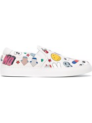 Anya Hindmarch 'All Over Stickers' Sneakers White