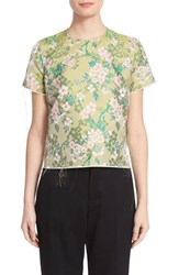 Marques Almeida Women's Marques'almeida Brocade Cap Sleeve Top