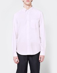 Acne Studios Isherwood Light Cotton Shirt In Orchid Pink