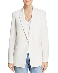 Dylan Gray Single Button Blazer Ivory