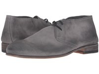 Billy Reid Indianola Chukka Charcoal Men's Lace Up Boots Gray