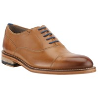Oliver Sweeney London Lupton Leather Oxford Lace Up Shoes Tan