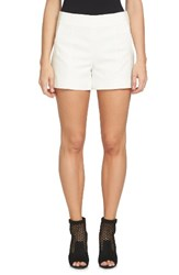 1.State Women's Flat Front Shorts