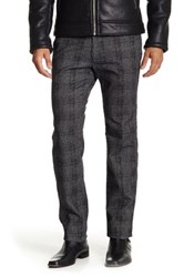 Mason Brushed Plaid Cargo Pant Gray