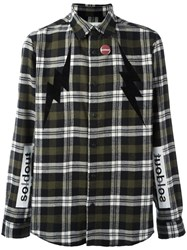 Sold Out Frvr Checked Shirt Green