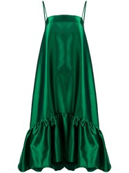 Gianluca Capannolo Oversized Shift Dress Green