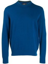Paul Smith Ps Slim Jumper Blue