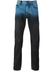 Marcelo Burlon County Of Milan Degrade Slim Fit Jeans Blue