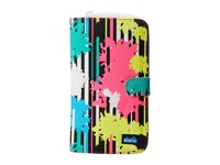 Kavu Tango Clutch Retro Palm Checkbook Wallet Multi