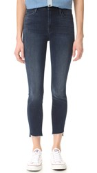 Mother Stunner Zip Ankle Step Fray Jeans A Trip Down Memory Lane