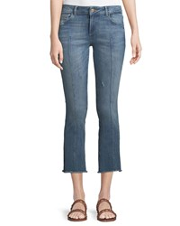 Dl1961 Instaslim Cropped Flare Leg Jeans Medium Blue