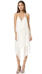 Haute Hippie Two Tier Strappy Dress Antique