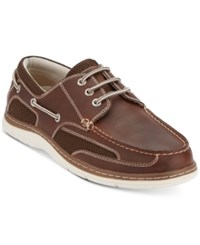 Dockers Lakeport Boat Shoes Shoes Red Brown