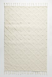 Anthropologie Tufted Avondale Rug Swatch Ivory